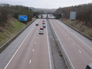 M54 Learn to Drive on a Motorway with Chris Blake Driving School in Shifnal